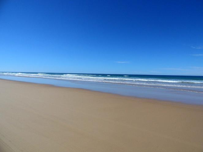 Fraser Island sand highway, Queensland, Australia