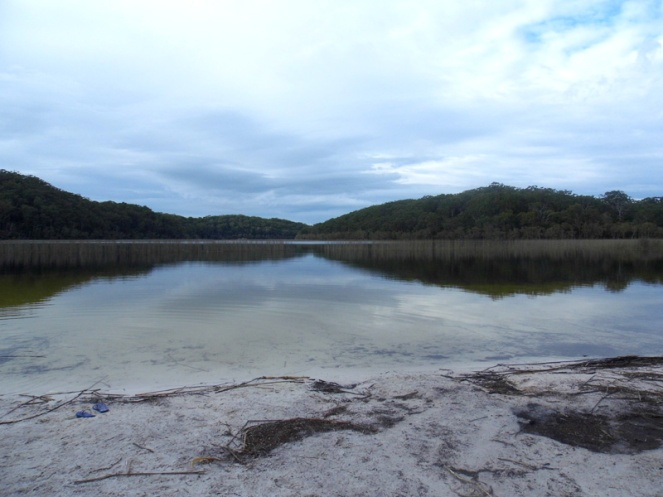 Tea tree lake, Fraser Island, Australia