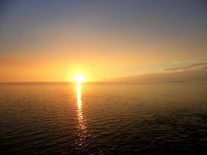 Sunset, Fraser Island, Australia