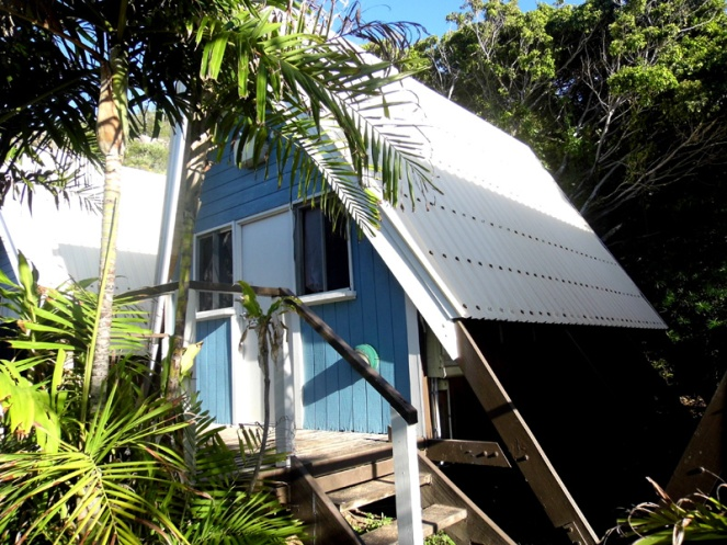 Beach bungalow, Base Magnetic Island hostel, Australia