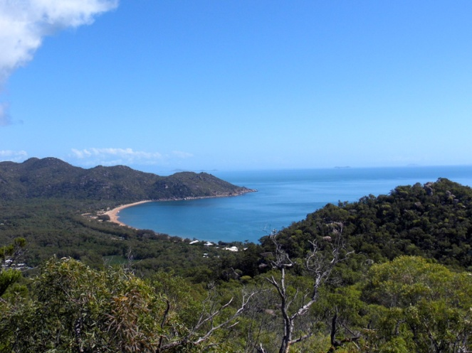 View over Horseshoe Bay from the Forts Walk, Magnetic Island, Australia