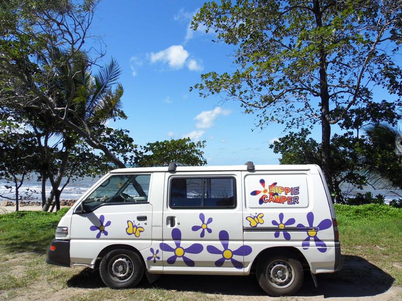 Hippie campervan, camper, road trip, Australia