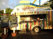 Food trucks, North Shore, Oahu, Hawaii