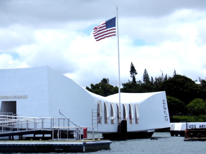 Arizona Memorial, Pearl Harbor, Hawaii, USA