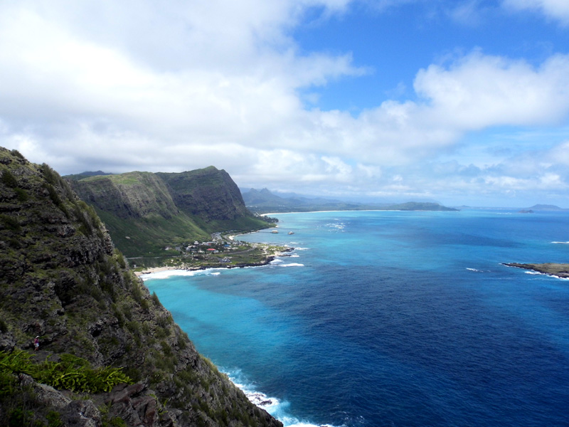 Makapu'u Lighthouse Trail viewpoint, Oahu, Hawaii