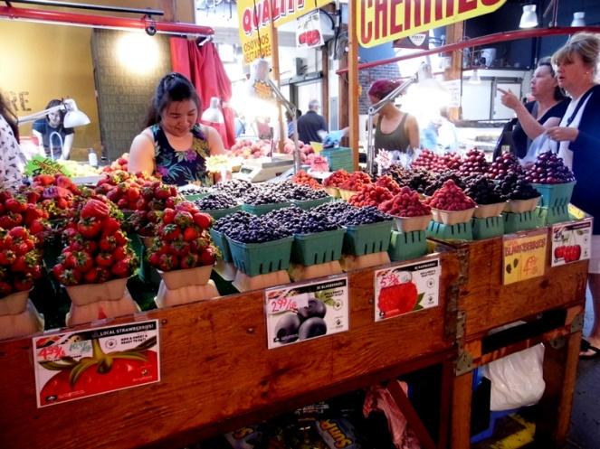 Granville Island food market, Vancouver, Canada