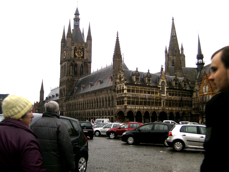 Cloth hall, Ypres, Belgium