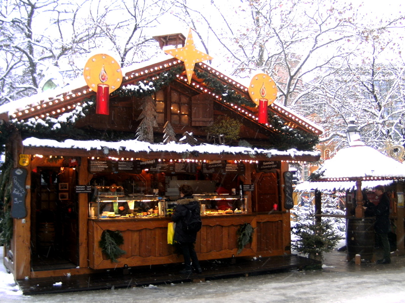 Christmas markets, Munich, Germany