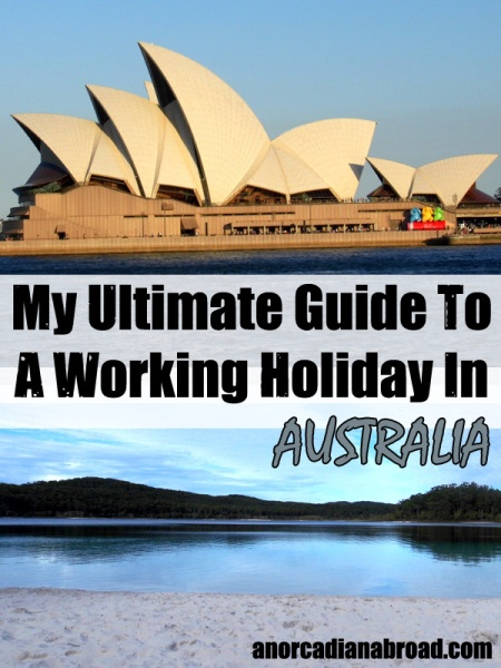 working holiday australia pinterest