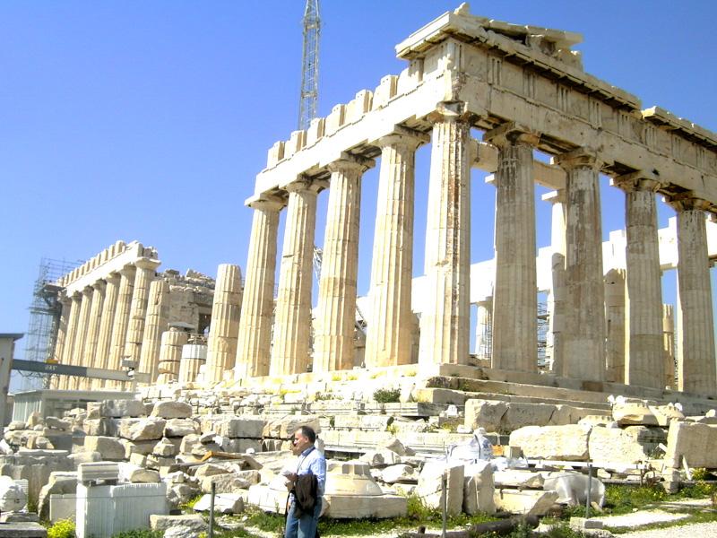 parthenon acropolis, athens greece