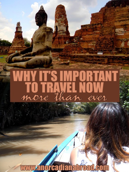 Why It's Important To Travel Now More Than Ever - An Orcadian Abroad #travel