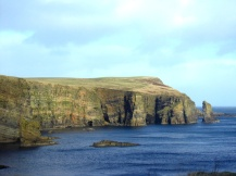 windwick cliffs orkney scotland