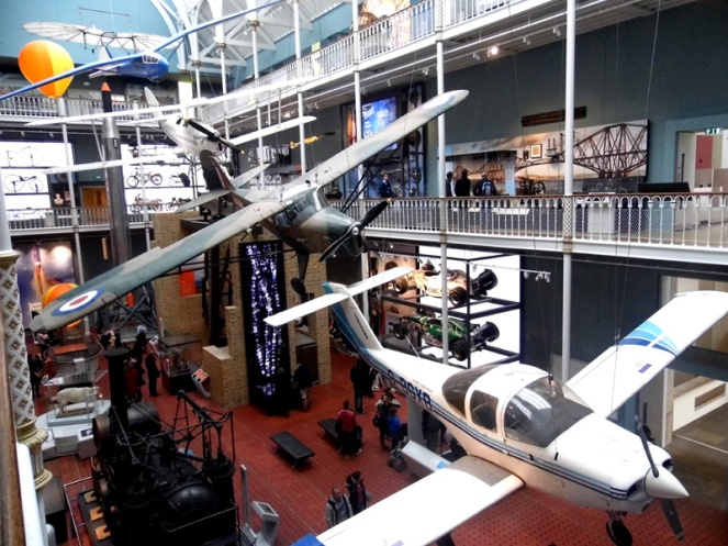 national museum of scotland, edinburgh, history, planes, aeroplanes, airplanes