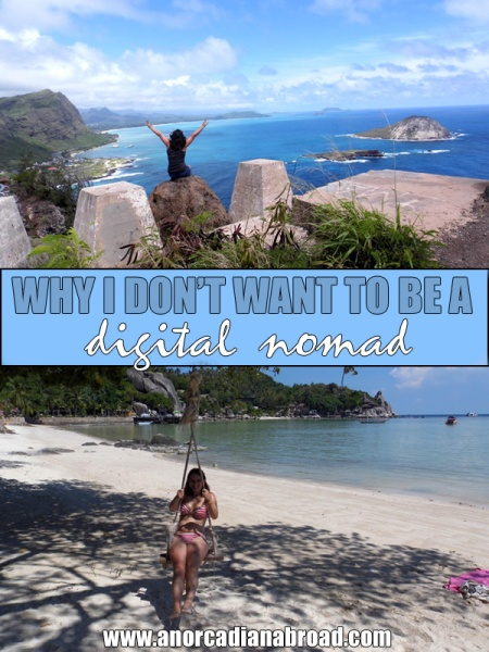 Why I DON'T Want To Be A Digital Nomad - and why having a full-time job to travel is absolutely fine! #travel #digitalnomad #fulltimetravel