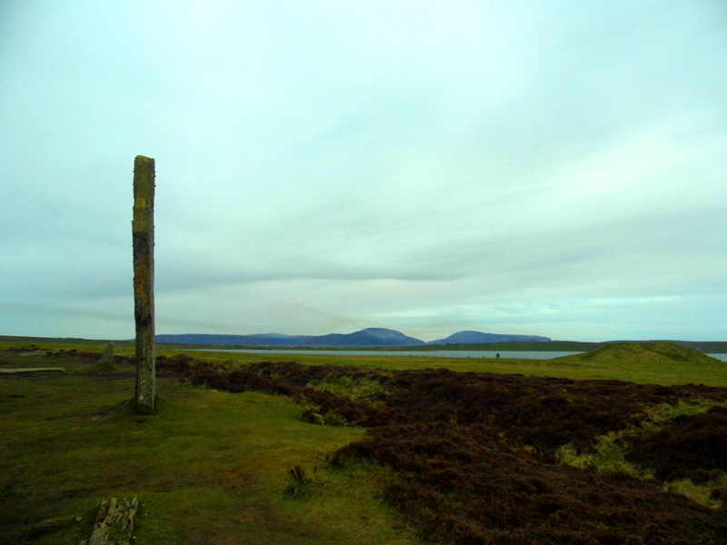 Ring Of Brodgar with Hoy, Orkney, Scotland
