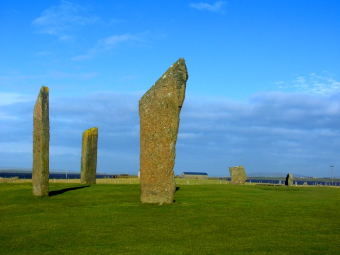 Stones Of Stenness, Orkney, Scotland
