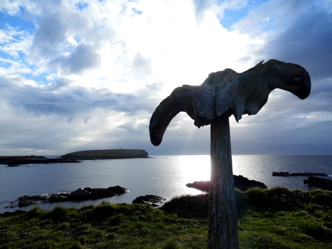 Whalebone, Birsay, Orkney, Scotland