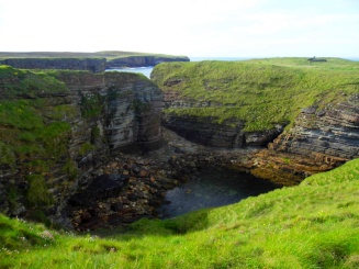Brough Of Deerness coastline, Orkney, Scotland