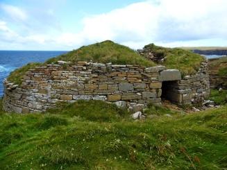 Broch Of Borwick, Yesnaby, Orkney, Scotland