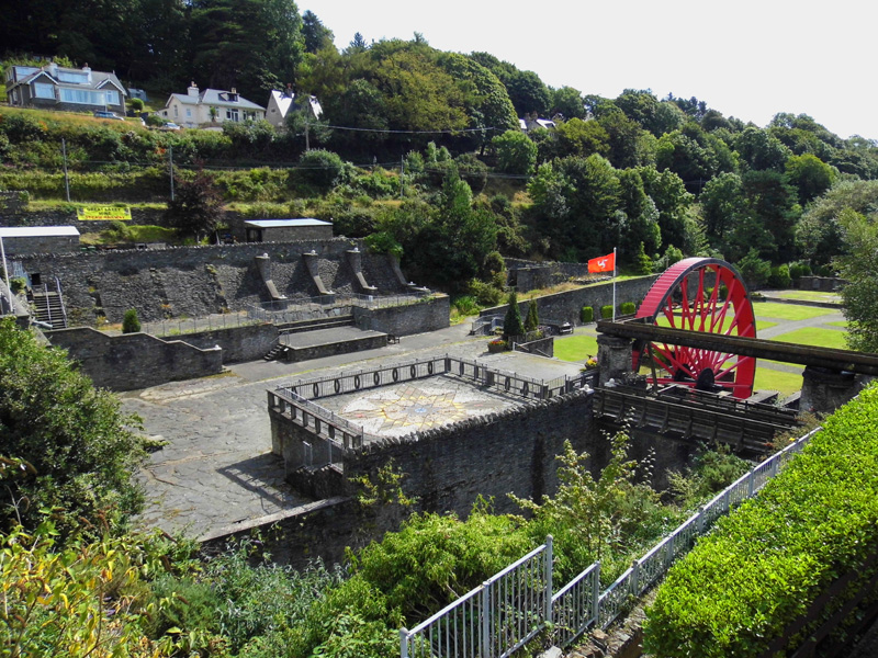 Small Laxey Wheel, Isle Of Man