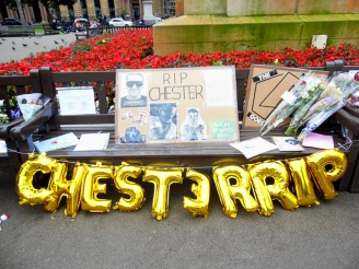 Chester Bennington tribute, Glasgow, Scotland