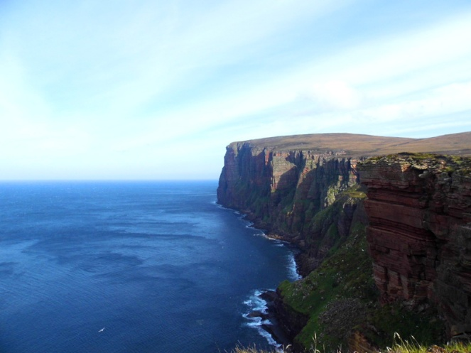 St John's Head, highest cliffs in the UK, Hoy, Orkney, Scotland