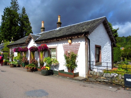 Cottage, Luss, Loch Lomond & The Trossachs National Park, Scotland