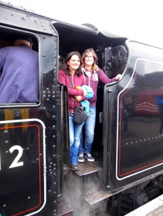 Jacobite Hogwarts Express train, Fort William, Scotland
