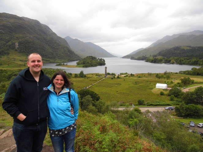 Glenfinnan viewpoint, Loch Shiel, Scotland