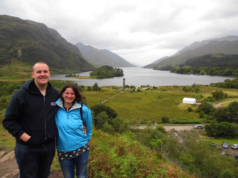 Glenfinnan viewpoint, Loch Shiel, Scotland