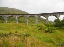 Glenfinnan Harry Potter viaduct, Scotland