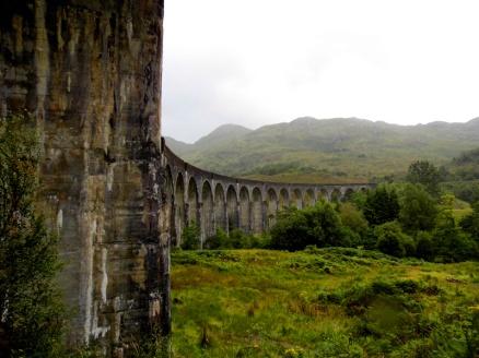 Glenfinnan Harry Potter viaduct, Scotland