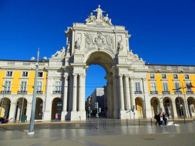 Arco de Rua Augusta, Lisbon, Portugal