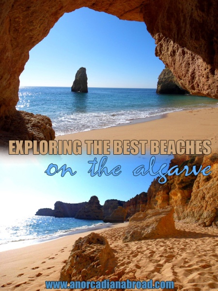 Exploring the best beaches on the Algarve in Portugal - some of the best beaches in Europe!