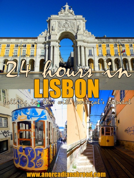 24 hours in Lisbon: Falling In Love With Portugal's Capital