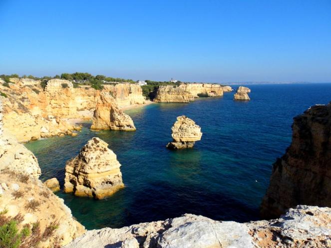 Praia da Marinha view, Algarve, Portugal