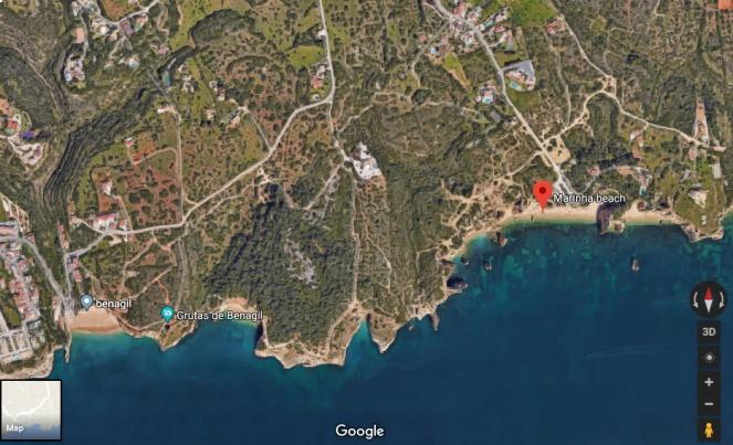 praia-marinha-benagil-map