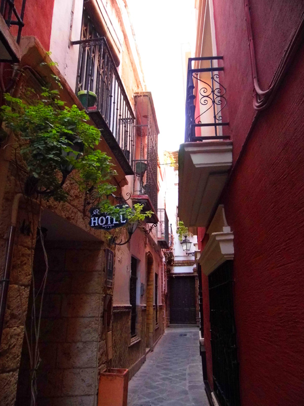 Alley ways, Seville, Spain