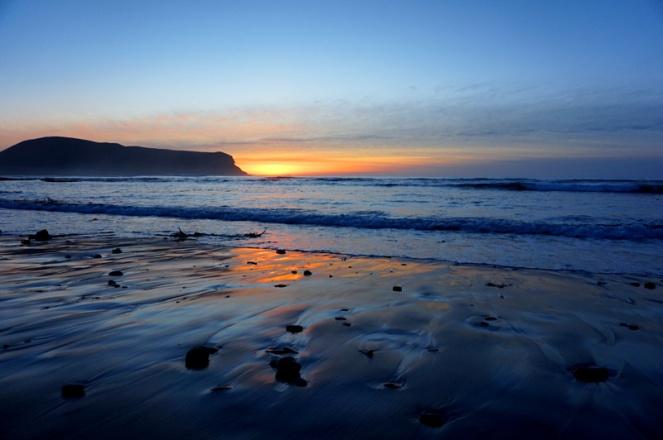 Sunset over Hoy, Orkney, Scotland