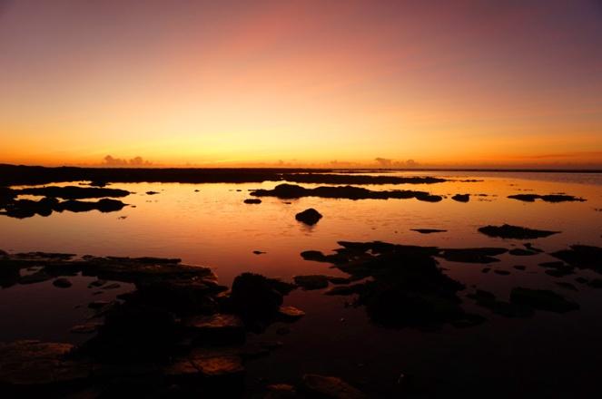 Sunset at Marwick Bay, Orkney, Scotland