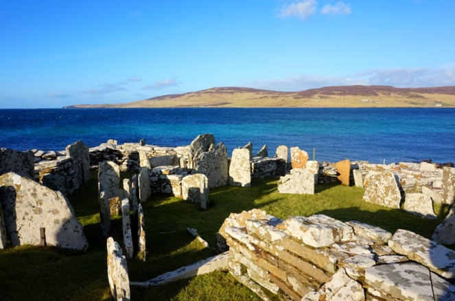 Broch Of Gurness, Orkney, Scotland