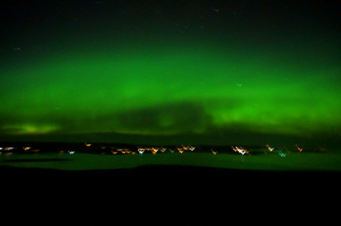 Northern lights, Orkney, Scotland