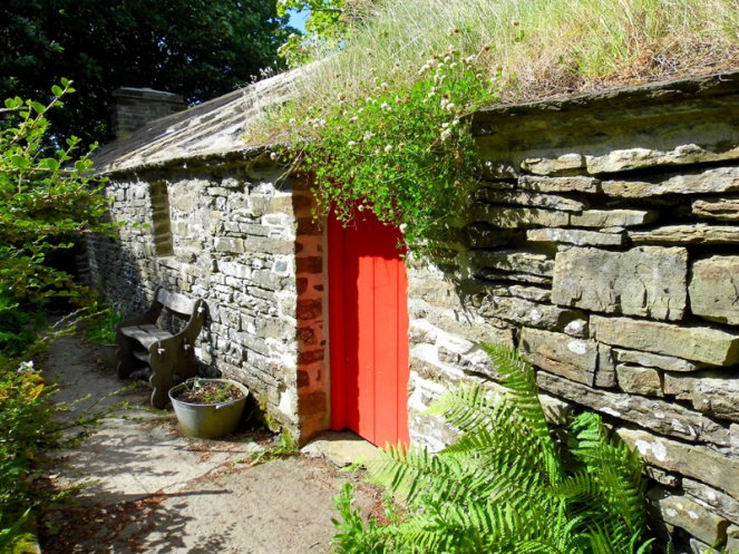 Happy Valley cottage, Orkney, Scotland