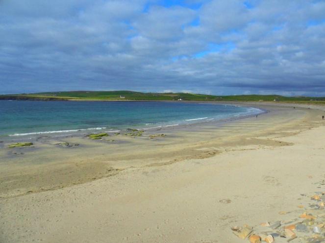 Skaill beach, Orkney, Scotland