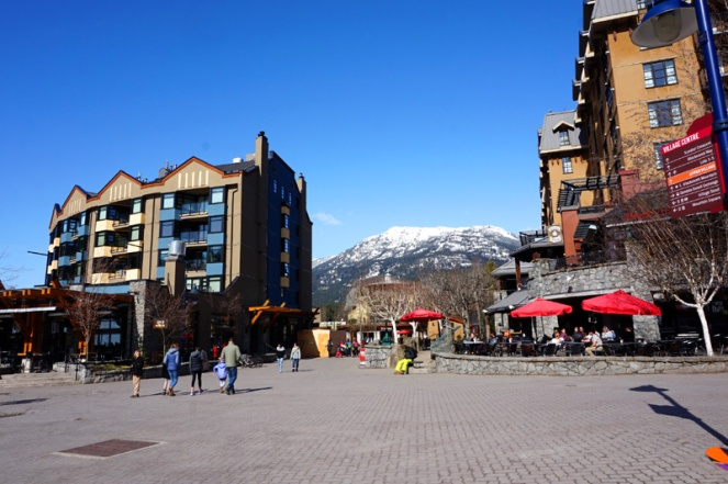 Whistler village, Canada