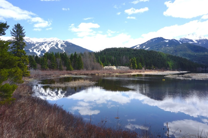 Beautiful mountains & lake, Whistler, Canada