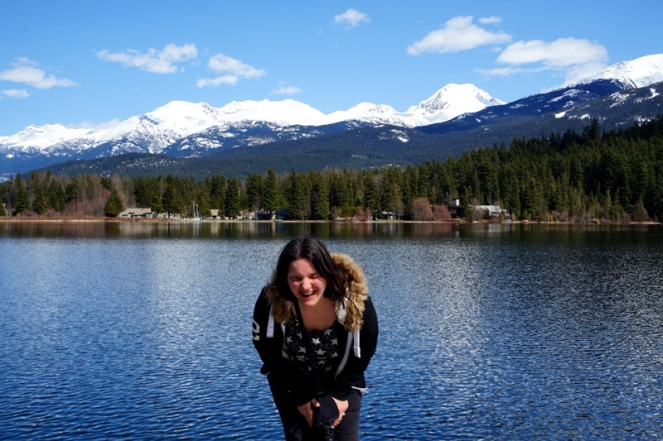 Fun in Whistler, Canada