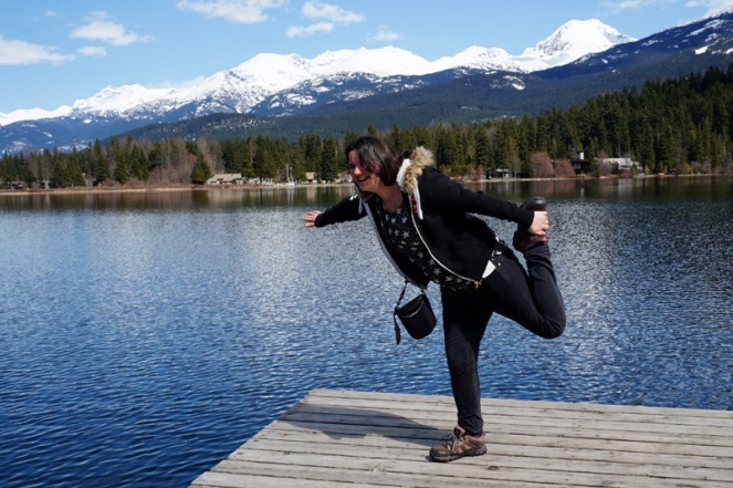 Fun in Whistler, Canada