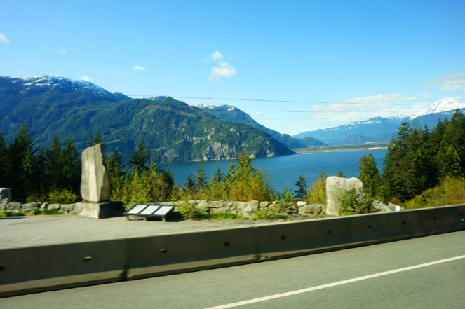 Journey from Vancouver to Whistler, Canada