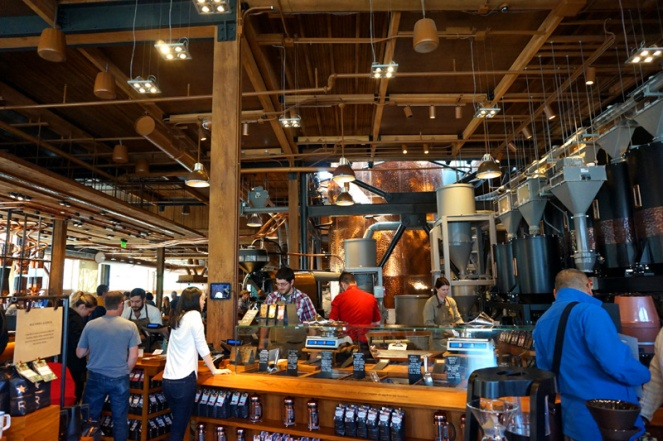 Starbucks Reserve Roastery, Seattle, USA